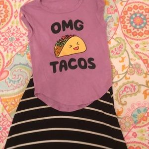 Other - Sassy taco / maxi skirt set 🌮